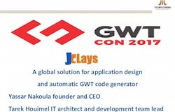 Jclays, A global solution for application design and automatic GWT code generator